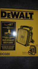DEWALT 12v 14.4v  18V 18 VOLT 110v dc020 Cordless/Corded Worklight Brand new NIB