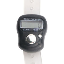 Electronic 5-Digit LCD Digital Golf Finger Hand Held Ring Tally Row Counter