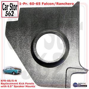 Custom Autosound KFR-60/5-N Kick Panels No Speakers 60-65 Ford Falcon/Ranchero