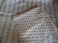 coupons tissu petites fleurs assortis     X  2