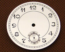 Parnis 38.9mm White Dial Fit for Eta 6498 Seagull St36 Movement Watch P136