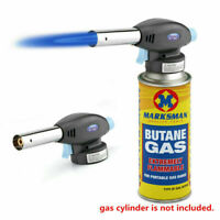 Portable Butane Gas Torch Welding Flame Blow Gun Outdoor Solder Lighter Burner