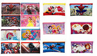 DISNEY Character Large Pencil Case Spiderman Star Wars Princess Dory Minnie Doc