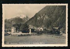 Austria Zillertal MAYRHOFEN Bahnhof Railway Station c1920/30s? RP PPC