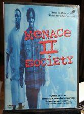 Menace II Society (DVD, 1997) Used - Free Shipping - Samuel L.Jackson