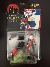 The Adventures of Batman & Robin - Harley Quinn w/Punch Glove & Pistol 63829 NIB