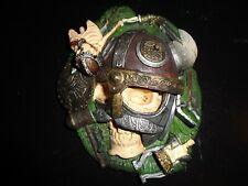 2001 Marvel Ent. Viking Warrior Skull and Skeleton Wall Art