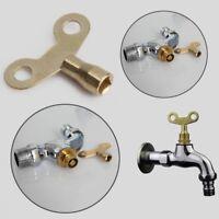 2x Kühler Entlüftungs Schlüssel Wasserhahn Entlüfterschlüssel Vierkantschlüssel
