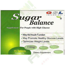 10 Boxes 150 Tabs GSL SUGAR BALANCE SUPPLEMENT FOR HIGH GLUCOSE 1700mg 15 Tabs/b