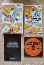 Let's Tap Nintendo Wii / complet / envoi gratuit !!