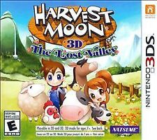 Harvest Moon 3D: The Lost Valley(Nintendo 3DS, 2014) Customize 3D Farm Free Ship