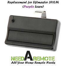 For Sears Craftsman 139.53753 One button Garage Door Opener Remote 315mhz Purple