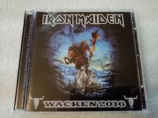 IRON MAIDEN wacken 2016 germany... 2CD