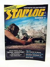 STARLOG Magazine 1977 #8 Harlan Ellison Animation Ray Harryhausen KISS LOVE GUN