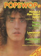 Popswop Magazine No.40 7 July 1973    The Sweet   Michael Jackson  Marc Bolan