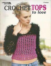 Leisure Arts - Crochet Tops to Love - 5 Crochet Design Patterns 2004