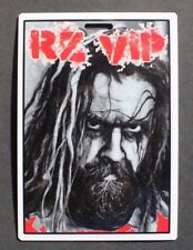 Vtg All Access Backstage Pass / VIP Laminate - 2012 Rob Zombie Tour #2