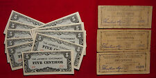 Philippines -Lot Of Japanese Invasion & Mindanao Guerrilla Notes - L@@K