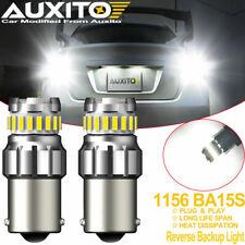 Auxito 1156 7506 Led Reverse Backup Light Bulbs White 6000k Canbus Error Free 2x