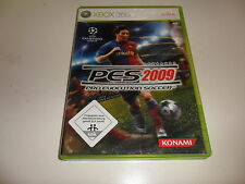 XBox 360  PES 2009 - Pro Evolution Soccer (2)
