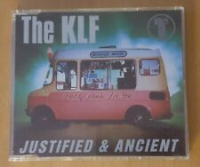 The KLF, Justified & Ancient - CD Single, Rare