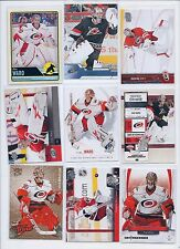 Cam Ward lot of 9 cards Hurricanes all different UD SP Ultra Gold Contenders