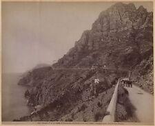 Sorrento a Positano Italie Italia Vintage albumine ca 1880