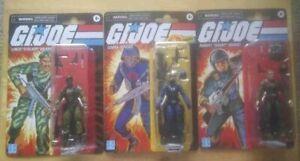 Hasbro G.I. JOE Retro Cobra Officer Lonzo Stalker Grunt Action NEW!  Lot 2021
