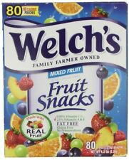Welch`s Mixed Fruit Snacks, 0.9 oz., 80-Count , New, Free Shipping