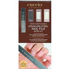 Cuccio Stainless Steel Nail File - Intro Kit  (1 x Ergonomic Nail File)