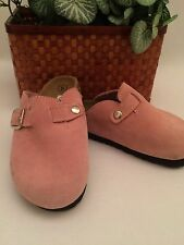 Pink Clogs, little girl, toddler size 8, look never worn.