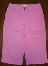 Coldwater Creek pink capri shorts women's petite 8