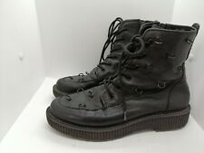 Katy Perry The Patti Size 8 Black Boots With Emblishments