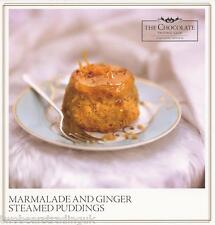 Recipe Card: Marmalade And Ginger Steamed Puddings (Hotel Chocolat)