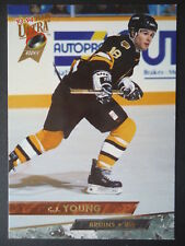 NHL 248 C.J. Young Boston Bruins Fleer Ultra 1993/94