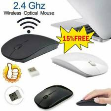 Slim 2.4GHz Optical Wireless/Wired Office Mouse-With USB Receiver for Laptop PC