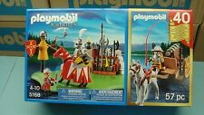 Playmobil 40th Anniversary Knights 5168 series Cannon Wagon NEW in Box toy