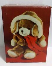 NEW Vintage Avon Plush Puppy Stuffed Animal 1982 Sealed in Box RARE