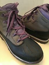 New listing Timberland Boys leather high top waterproof hiking boots US 7 Euro 40