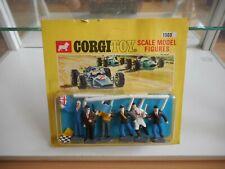 Corgi toys Scale model Figures Race Track Official on Blister