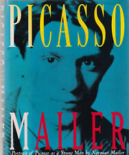 PICASSO AS A YOUNG MAN BY NORMAN MAILER, 1ST ED, SIGNED, DUST JACKET