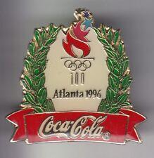 RARE PINS PIN'S .. COCA COLA COKE OLYMPIQUE OLYMPIC AMERIQUE USA ATLANTA 96 ~18