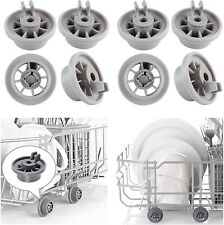 New listing 8x Dishwasher Wheels For Bosch Neff Spare Parts Rollers Lower Basket, 165314