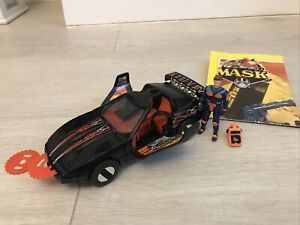 vintage M.a.s.k Raven Complete with 2 Immobiliser discs and Calhoun Burns