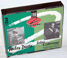 CD MILES DAVIES - JOHN COLTRANE - 2 Double CD - 2CD-Box