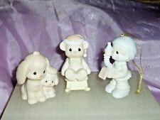 New ListingVintage Precious Moments By Ensco Lot Of 3 1988 & 1989 Figurines