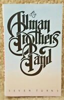 Vintage 1990 Cassette Tape The Allman Brothers Band Seven Turns CBS Records