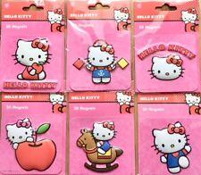 3 Hello Kitty Magnet Kühlschrankmagnete verschiedene Motive, wählbar NEU