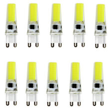 USA 10pcs G9 Dimmable 2508 COB LED Light Bulb Silicone Crystal Lamp 6500K 120V