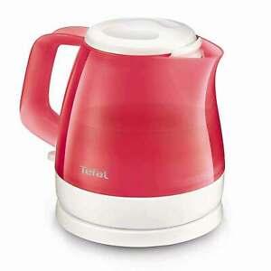 Tefal Mini Wasserkocher KO152510 0,8 Liter Delfini Vision Rot 2400 Watt NEU